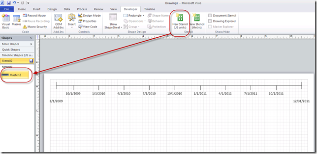 Creating a Portfolio Timeline Report in Visio (Part 2) – Project ...